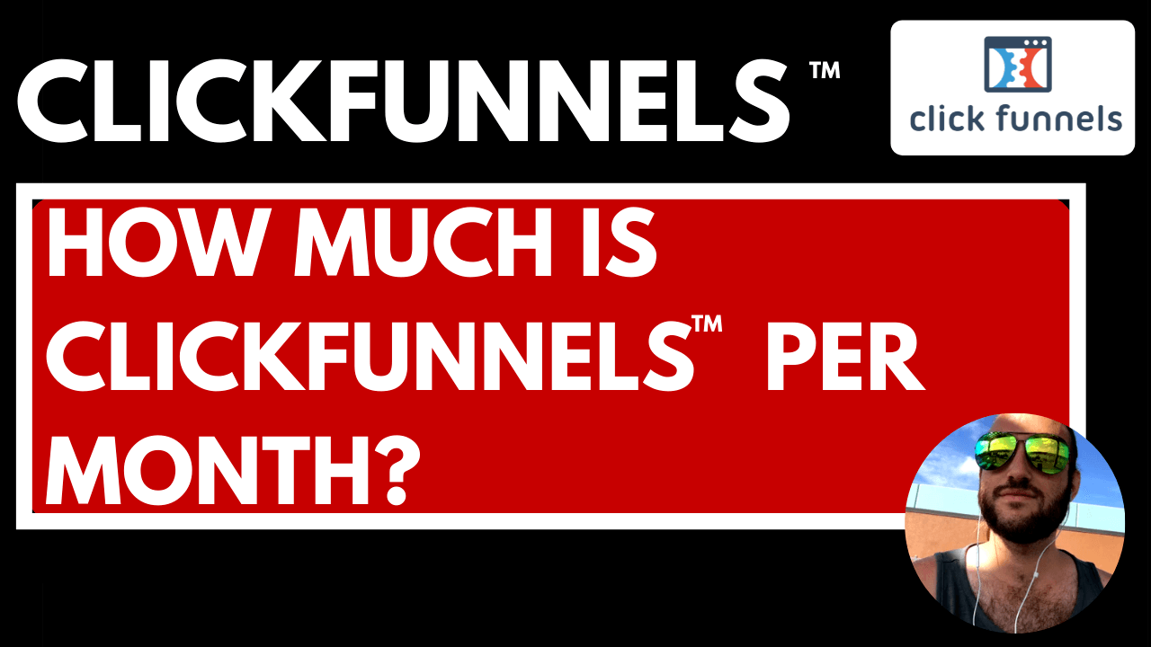 how much is clickfunnels per month