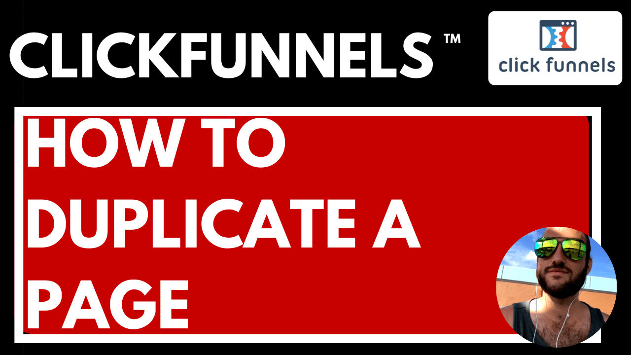 clickfunnels how to duplicate a page